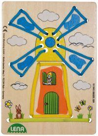 LENA Navlékací obrázek větrný mlýn cena od 98 Kč