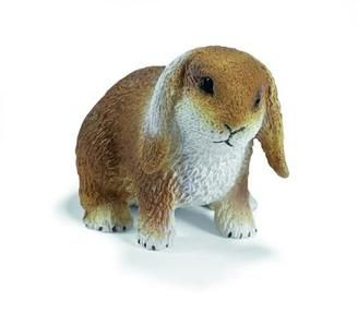 Schleich Zvířátko - trpasličí králík se svislýma ušima cena od 0 Kč