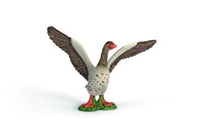 Schleich Zvířátko - houser šedý s roztaženými křídly cena od 139 Kč