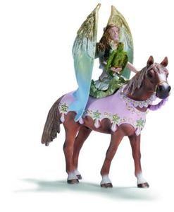 Schleich Elfí víla Surah na koni cena od 359 Kč