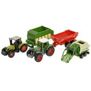 Siku Super Sada zemědělských strojů cena od 250 Kč