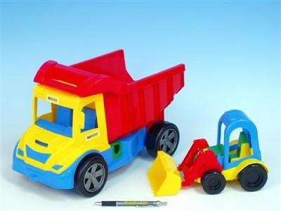 WADER Auto multitruck s nakladačem plast 37 cm cena od 199 Kč