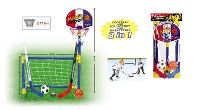 Mac Toys 3v1 Basketbal, Fotbal, Hokej cena od 299 Kč
