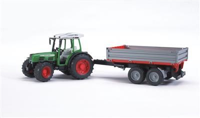 BRUDER Traktor Fendt farmer + sklápěcí vůz cena od 403 Kč