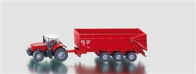 SIKU Farmer Traktor Massey Ferguson s přívěsem cena od 259 Kč