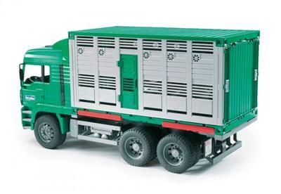 BRUDER MAN kontejner na přepravu zvířat cena od 776 Kč
