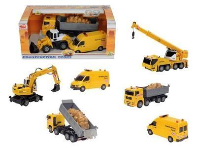 DICKIE Set stavební auta cena od 373 Kč