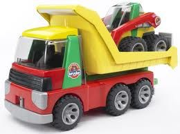 BRUDER Auto nákladní s nakladačem cena od 782 Kč