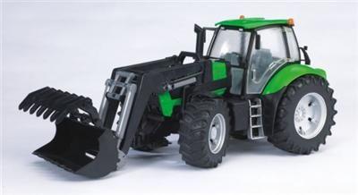BRUDER Deutz Agrotron X720 se lžící cena od 584 Kč