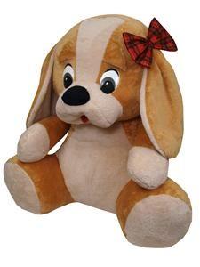 MÚ Pes s mašlí 70 cm