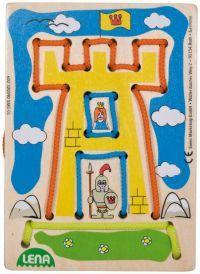 LENA Navlékací obrázek hrad 32039 cena od 110 Kč