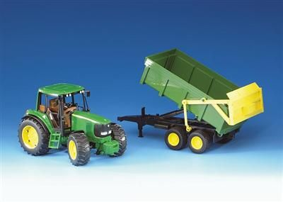 BRUDER Traktor John Deere 6920+ sklápěcí valník cena od 664 Kč