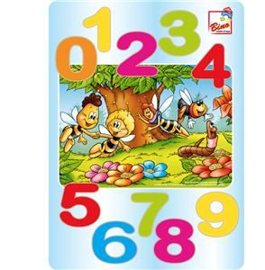 Včelka Mája - puzzle čísla cena od 106 Kč