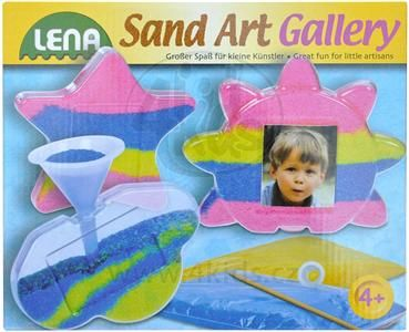 LENA Fotorámečky s barevným pískem cena od 149 Kč