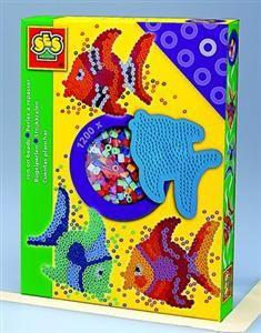 SES Zažehlovací korálky ryba cena od 169 Kč