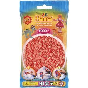 Hama Pastelově červené korálky cena od 48 Kč