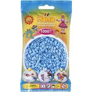 Hama Pastelově modré korálky cena od 48 Kč
