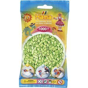 Hama Pastelově zelené korálky cena od 45 Kč