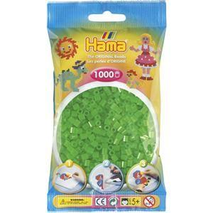 Hama Neonové zelené korálky cena od 45 Kč