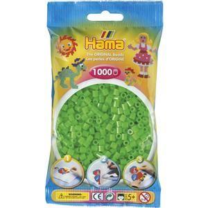 Hama Zářivě zelené korálky cena od 45 Kč