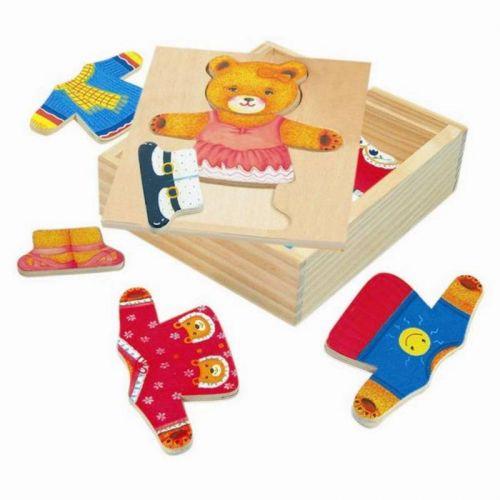 Puzzle - šatní skříň - medvědice