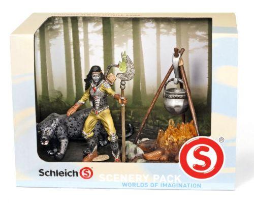 Schleich Scenery set bojovník Noctis a ohniště cena od 409 Kč