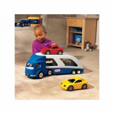 MGA Little Tikes Tahač s návěsem pro přepravu aut