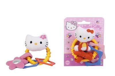 Simba Hello Kitty Chrastítko kruh s plyšovou hračkou cena od 139 Kč