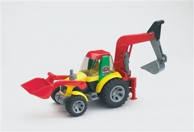 Bruder Roadmax - Traktor - nakladač - bagr cena od 469 Kč