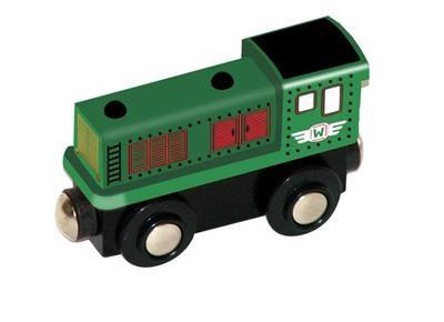 Woody - Příslušenství k dráze - lokomotiva