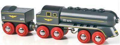 Brio - Rychlý šedý vlak s vagonem