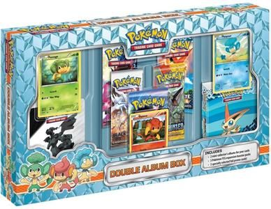 Pokémon Company: Pokémon: Double Album Box cena od 0 Kč