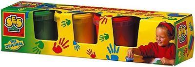 SES Dět.barvy pro malování prsty,4x150 ml