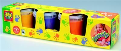 SES Prstové barvy - Trendy - 4x150 ml