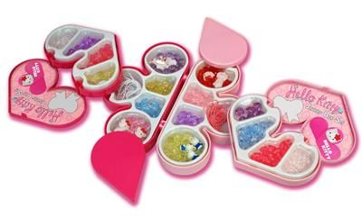 Grand Soleil Hello Kitty šperkovnice Velké srdce