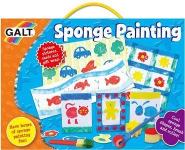 Galt: Malování s pěnovou houbičkou cena od 249 Kč