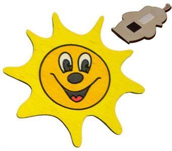 DODO Dekorace malá - Sluníčko