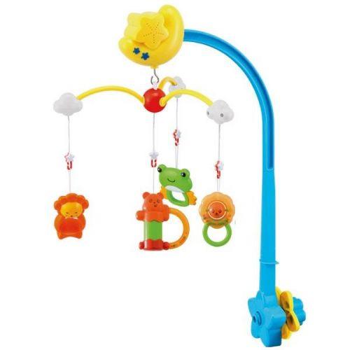 Canpol babies plastový kolotoč s melodiemi méďa a přátelé