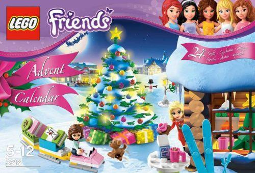 Lego Friends Adventní kalendář cena od 0 Kč