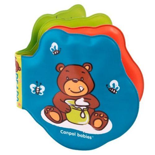 Canpol babies měkká knížka pískací vybarvovací medvíci cena od 79 Kč
