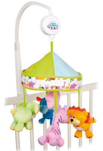 Canpol babies plyšový kolotoč Safari pod baldachýnem cena od 425 Kč