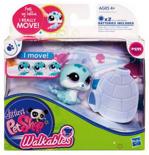 Hasbro Littlest Pet Shop chodící asst cena od 261 Kč