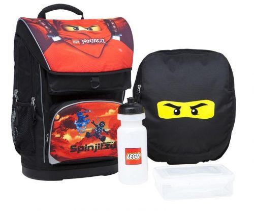 13ab7f5cb7e LEGO Školní taška Large LEGO NINJAGO RED - Srovname.cz