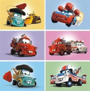 Disney - Pixar: Auta - Dřevěné kostky 6 ks cena od 157 Kč