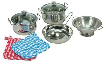 Bino Sada nerezového nádobí (8 ks)