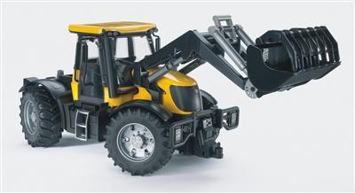 BRUDER - Traktor JCB FASTRAC + čelní nakladač cena od 606 Kč