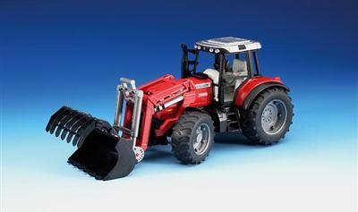 BRUDER Traktor Massey Ferguson 7480 nakladač cena od 549 Kč