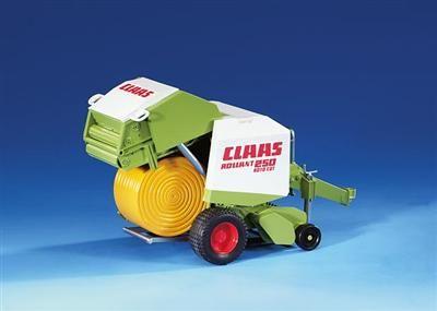 BRUDER Přívěs balíkovač Claas Rollant 250 cena od 396 Kč
