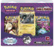 Pokémon Company: Pokémon: BW5 Dark Explorers - 3 Pack Blister (24) cena od 0 Kč