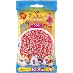 Hama Růžové korálky cena od 48 Kč